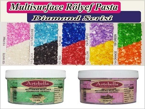 Diamond Serisi Multi Surface Rölyef Pasta