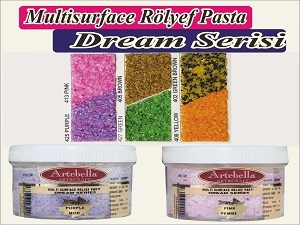Dream Serisi Multi Surface Rölyef Pasta